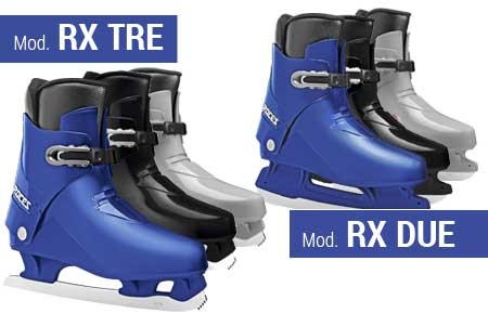 Ice Skate RX DUE/RX TRE for Rental - Roces